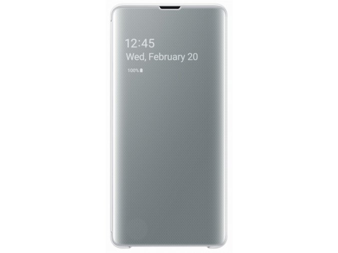 Samsung EF-ZG975CW Flip ClearView Galaxy S10+,Whit