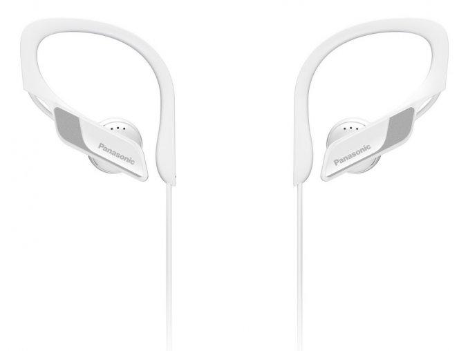 Panasonic BTS10E-W bílé BT sluchátka sportovní