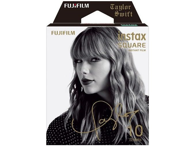 FujiFilm film Instax square Taylor Swift