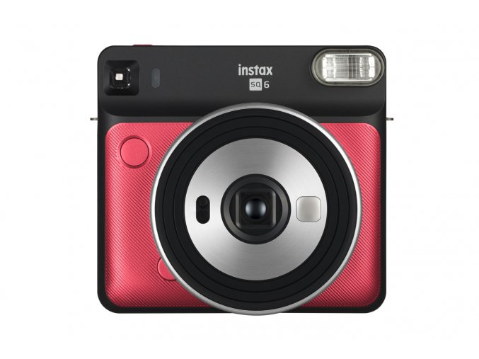 FUJIFILM Instax Square SQ6 red  + Accessory kit black pro SQ6
