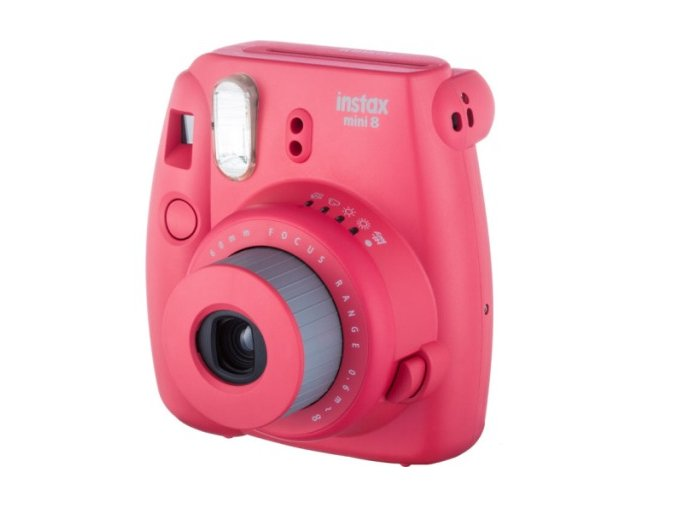 Fuji instax Neck strap Raspberry Red