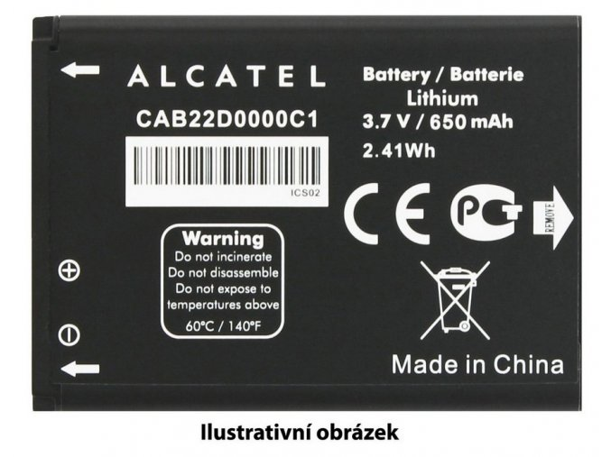 ALCATEL Baterie 2.500mAh Li-Pol 5051D Pop 4