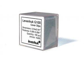 Levenhuk Sada podložních skel G100, 100ks