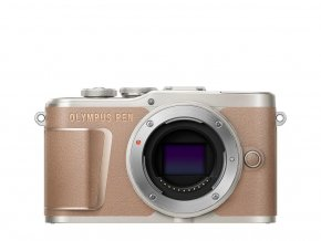 Olympus E-PL10 body brown