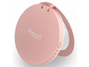 Hyper Pearl Makeup mirror & powerbank Rose Gold