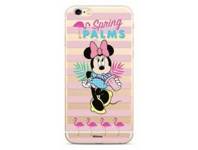 Disney Minnie 028 Back Cover iPhone XS, Clear