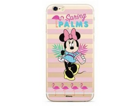 Disney Minnie 028 Back Cover iPhone XS Max, Clear