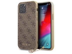 Guess Charms Hard Case 4G iPhone 12/12 Pro, Brown