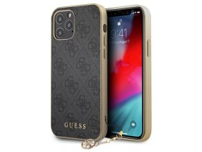 Guess Charms Hard Case 4G iPhone 12 Pro Max, Grey