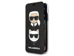 Karl Lagerfeld Karl & Choupette Book iPhone XS Max