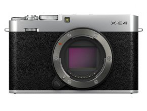 Fujifilm X-E4 silver body + ACC kit