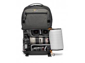 Camera BackPack Lowepro Fastpack Pro BP 250 AW III LP37331 PWW DSLR 24 70 Stuffed RGB