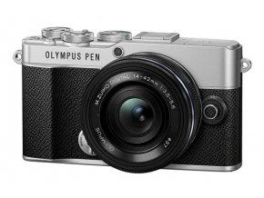 Olympus E-P7 Pancake Zoom Kit slv/blk