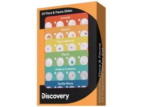 Discovery Flora & Fauna 24 Prepared Slides Set