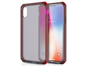 ITSKINS Supreme Frost 3m iPhone XR, Red/Black