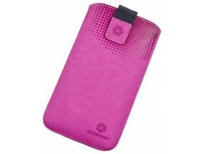 RedPoint Velvet Pocket uni pouzdro 4XL, Pink