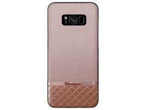 Uunique kryt Pink Metallic/Saffiano GalaxyS8+,Pink