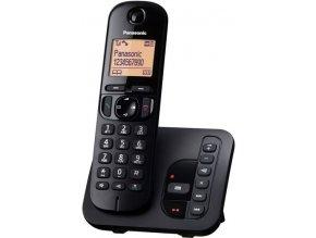 Panasonic KX-TGC220FXB se záznamníkem (černý)