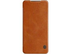 Nillkin Qin Book pouzdro Samsung A41, Brown