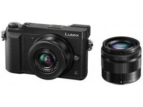 Panasonic LUMIX DMC-GX80 black + 12-32 mm + 35-100