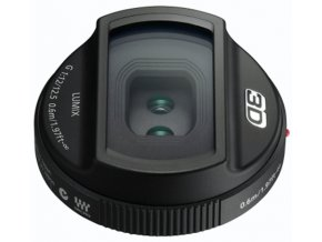 Panasonic 3D Lens LUMIX G 12,5 mm f12