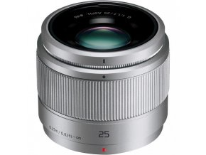 Panasonic Lumix 25 mm F1.7 - silver