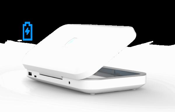 PhoneSoap Go přenosné dezinfekční zařízení pro mobilní telefony, UV-C, bílá