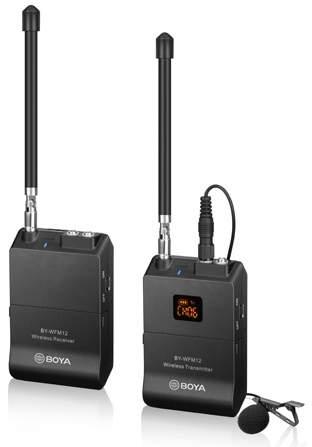 Boya BY-WFM12 bezdrátový mikrofon