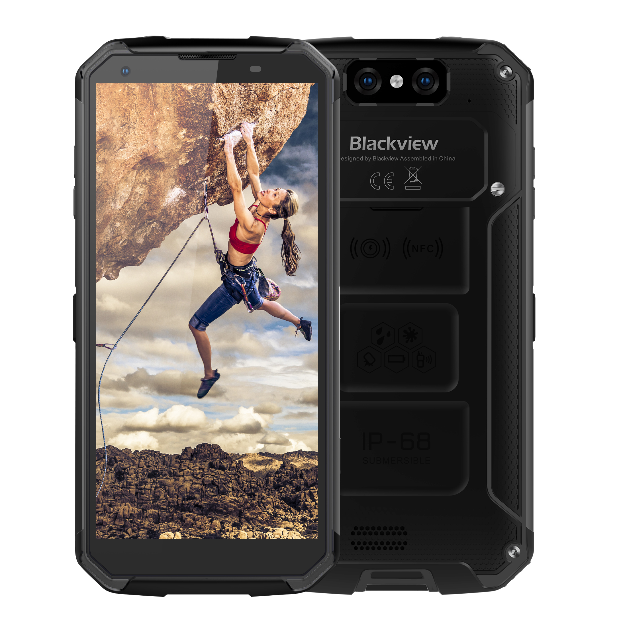 iGET Blackview GBV9500 Plus black