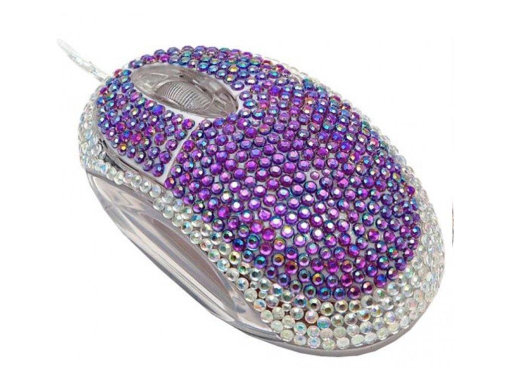 Diamantová Myš Modrá
