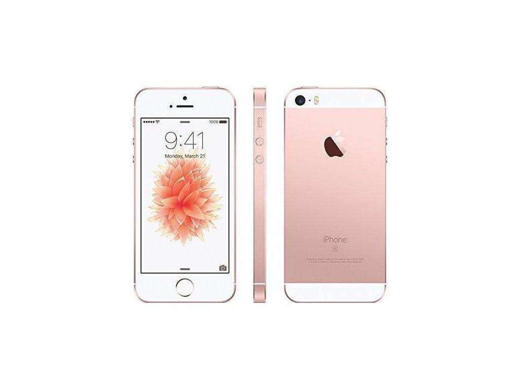 Apple iPhone SE 64GB, růžová/zlatá  PŘEDVÁDĚCÍ TELEFON