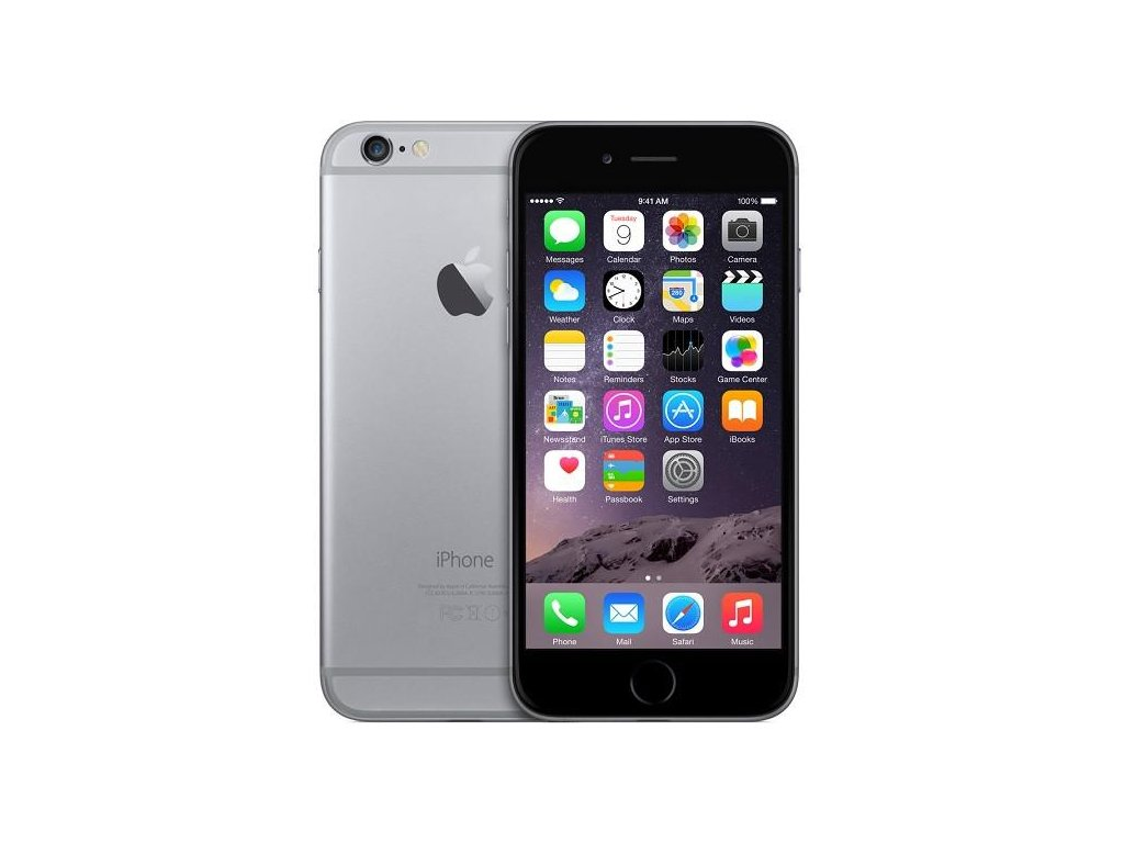 Apple iPhone 6 64GB Space Grey  PŘEDVÁDĚCÍ TELEFON