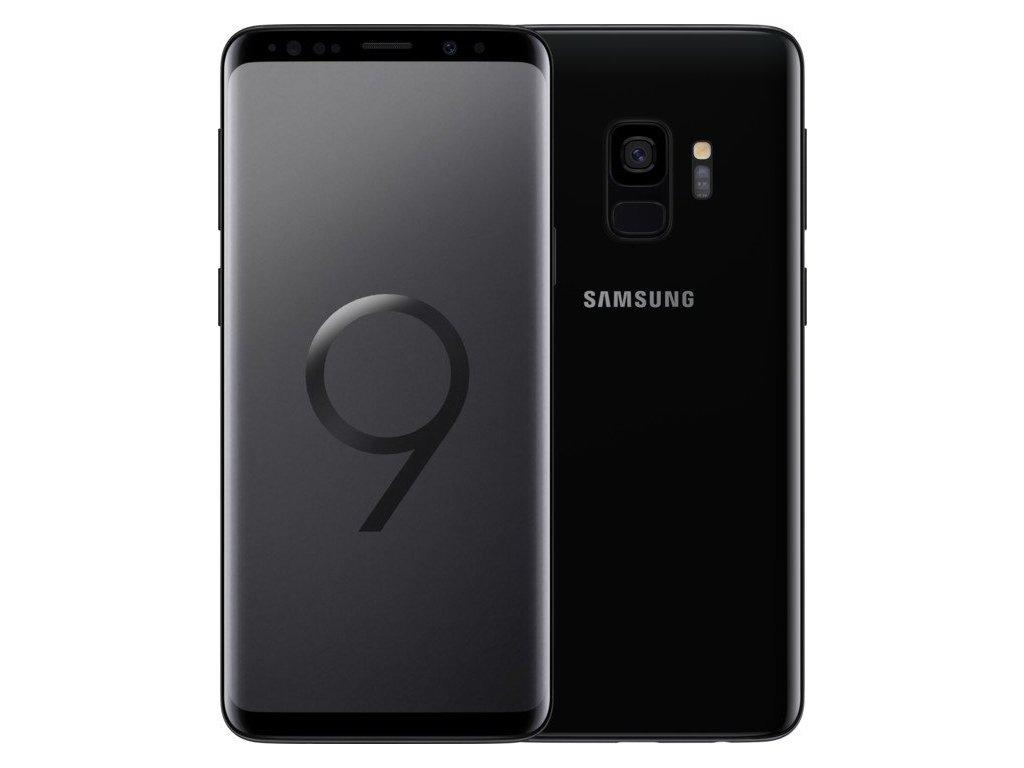 Samsung Galaxy S9 64GB Dual SIM černá  PŘEDVÁDĚCÍ TELEFON