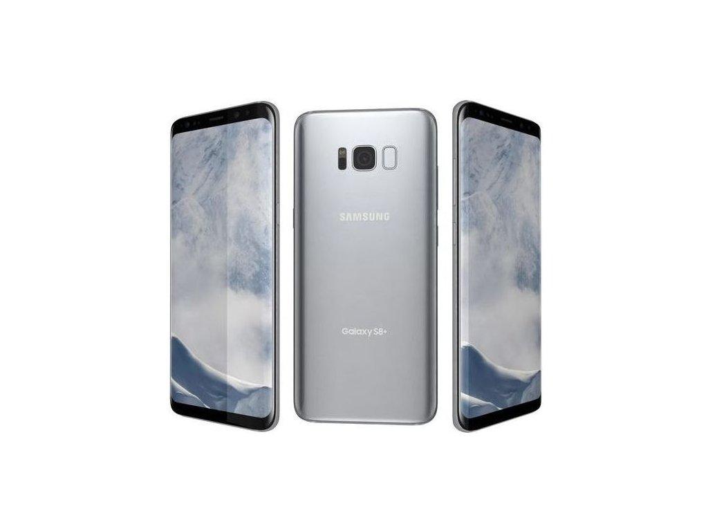 10512 samsung galaxy s8 plus arctic silver 3d model max obj 3ds fbx wrl wrz mtl