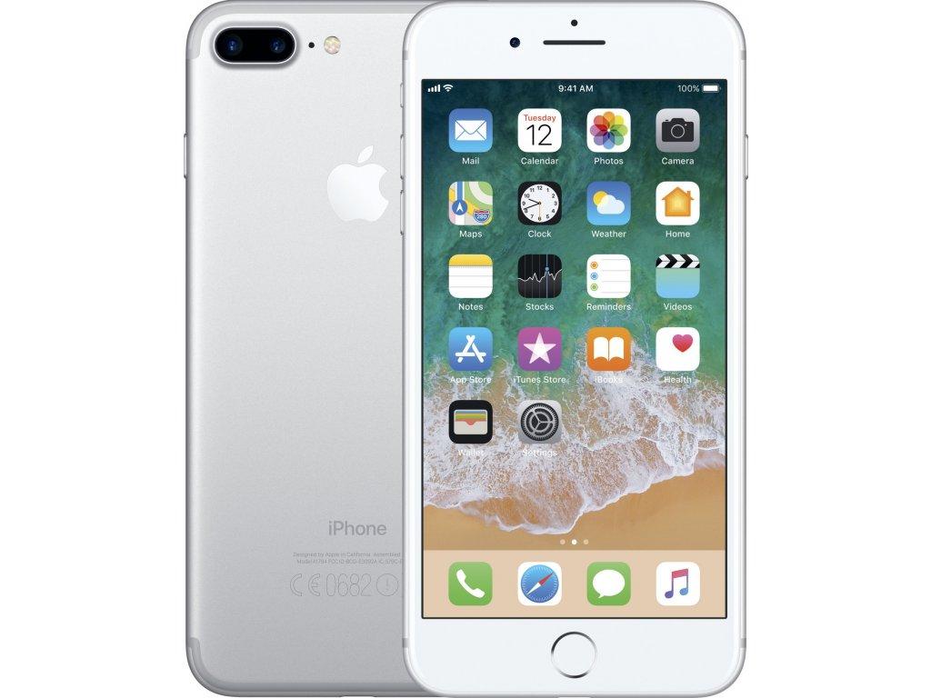 Apple iPhone 7 Plus 32GB, stříbrná  PŘEDVÁDĚCÍ TELEFON