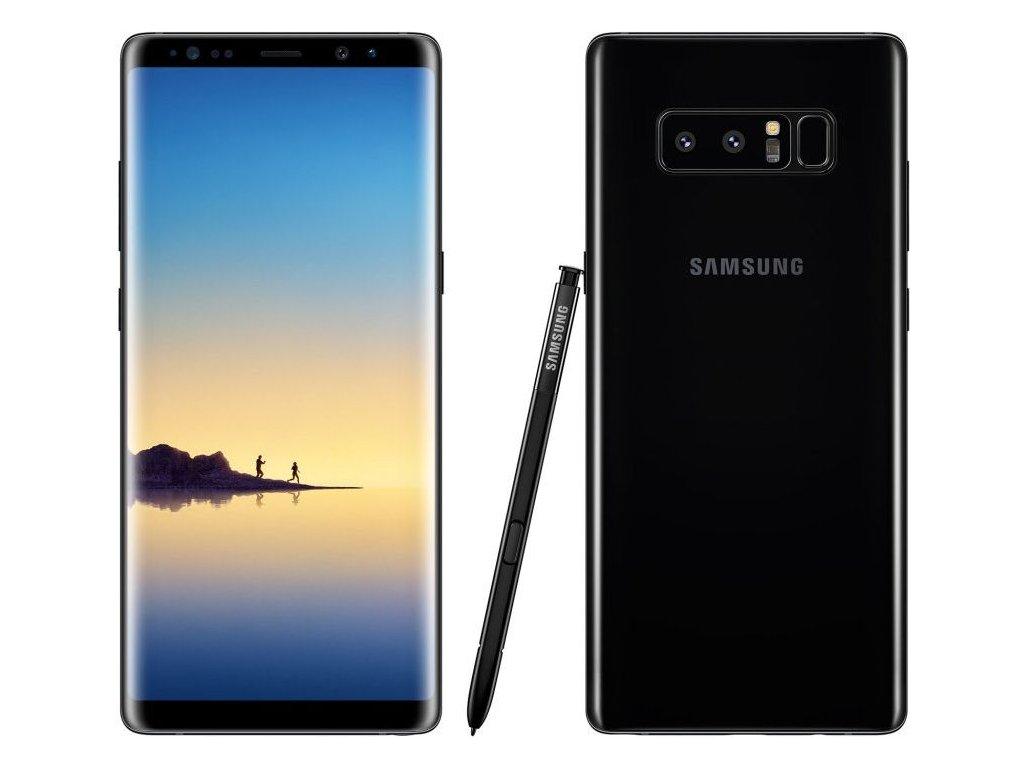 Samsung Galaxy Note 8 černá  PŘEDVÁDĚCÍ TELEFON