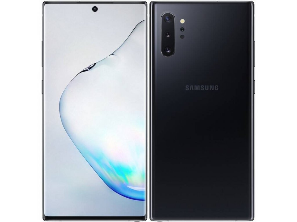 Samsung Galaxy Note10+ 12GB/256GB Aura Black  PŘEDVÁDĚCÍ TELEFON+FLIPOVÉ POUZDRO ZDARMA