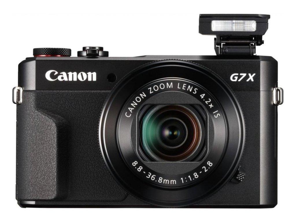 Canon PowerShot G7 X Mark II černá  CZ DISTRIBUCE