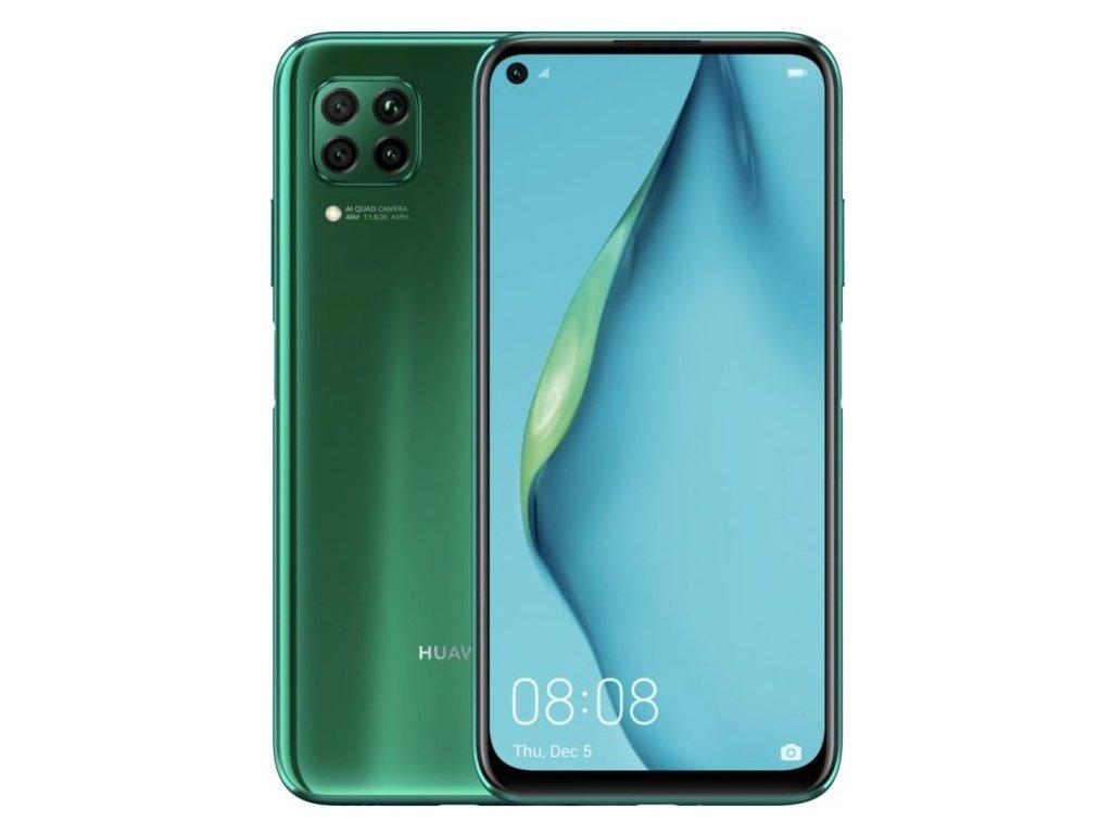 Huawei P40 lite, 6GB/128GB, Crush Green  PŘEDVÁDĚCÍ TELEFON CZ DISTRIBUCE