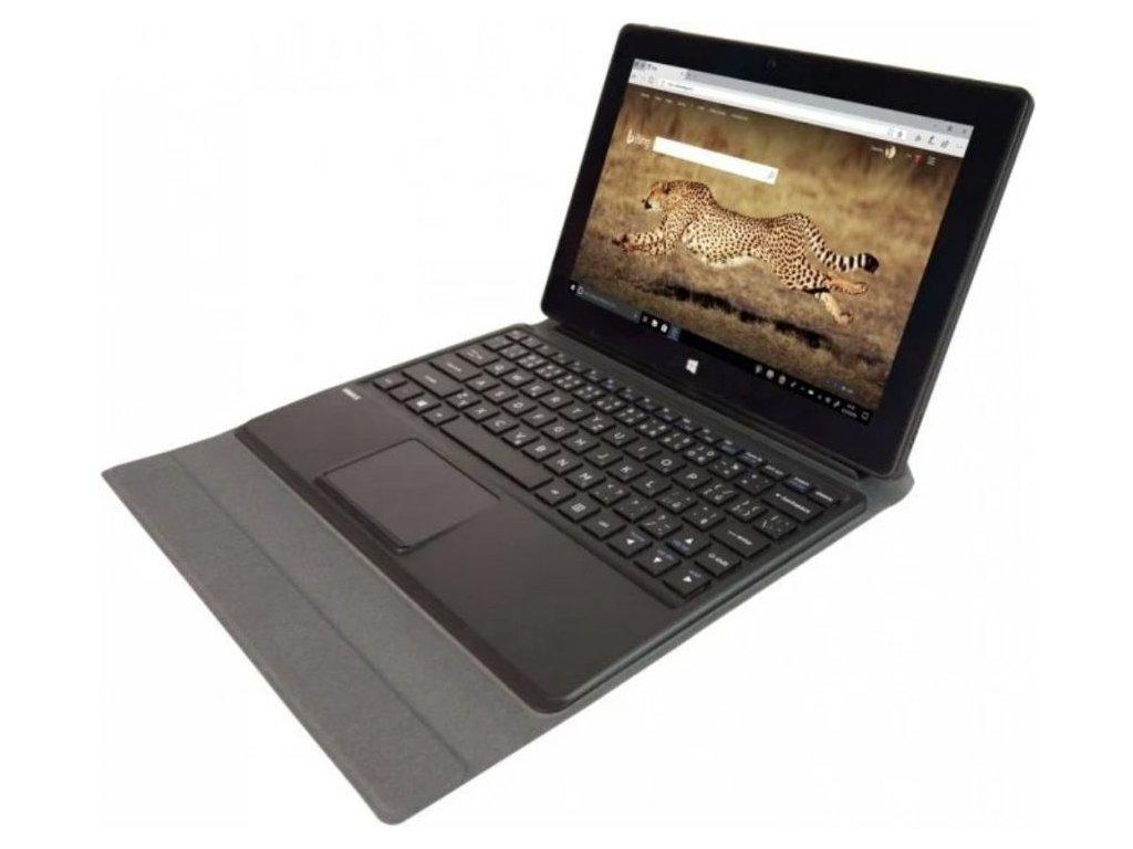 """Umax VisionBook 10Wi-S černá + klávesnice  Dotykový 10.1""""IPS   64GB SSD   4JÁDRO INTEL"""