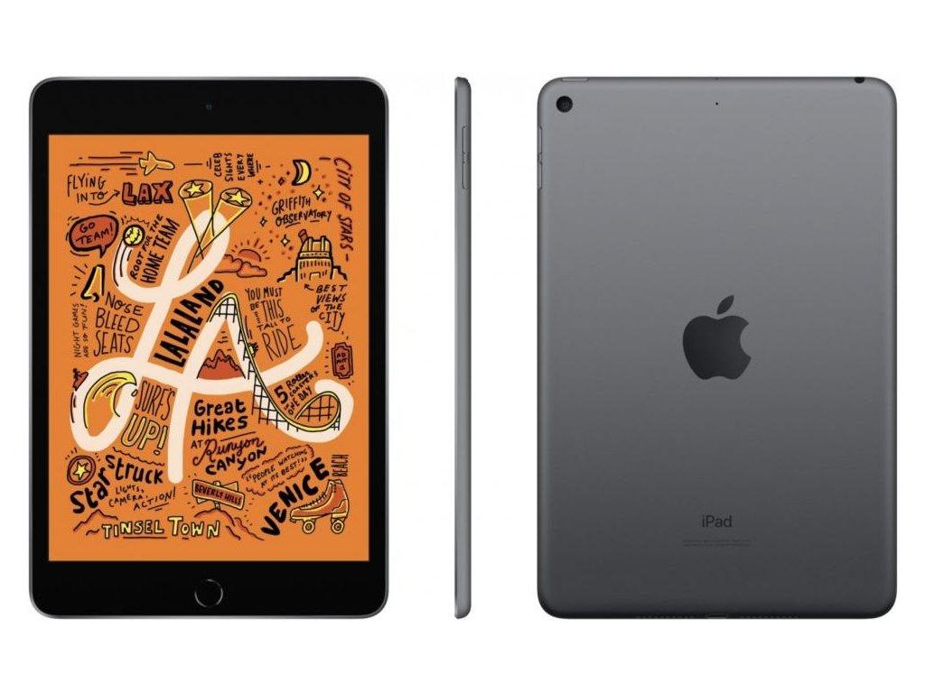Apple iPad Mini, 64GB, Wi-Fi, Grey, 2019  CZ DISTRIBUCE