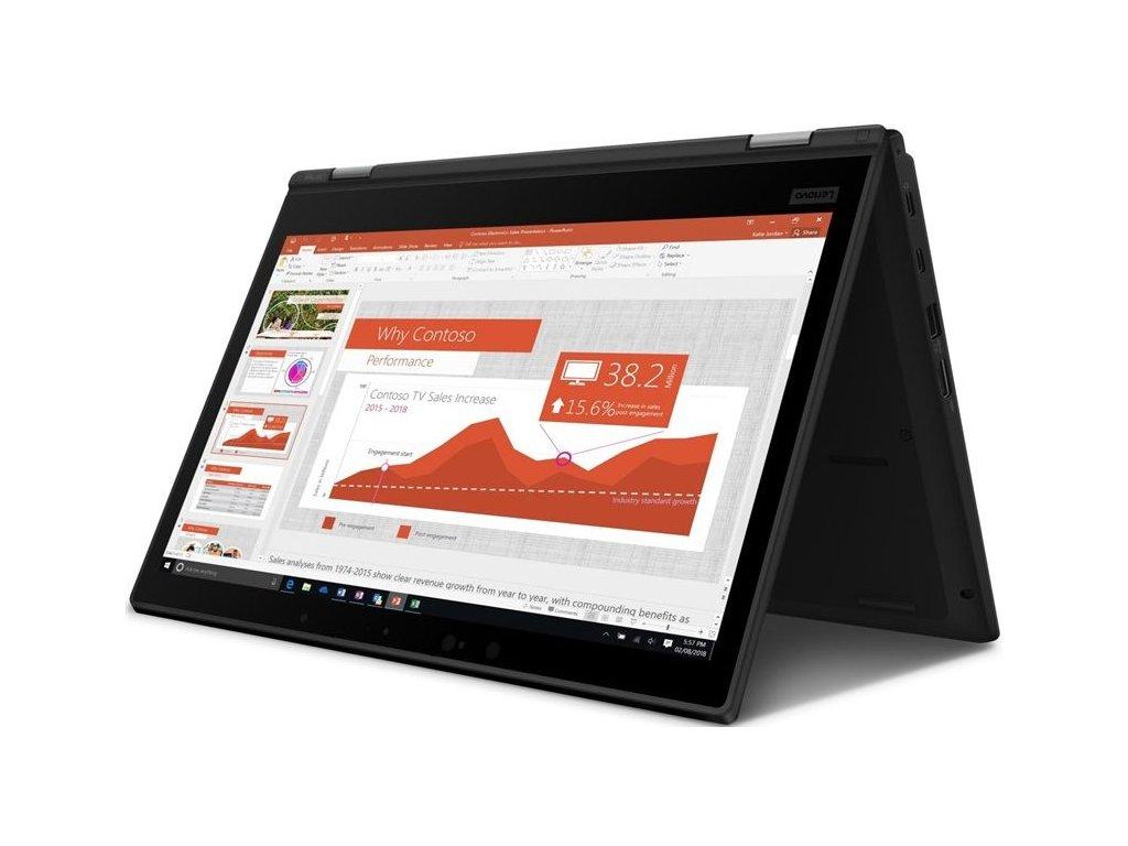 "Lenovo ThinkPad Yoga L390, černá  Dotykový 13.3"" IPS | i5-8265U | 8GB DDR4 | 512SSD"