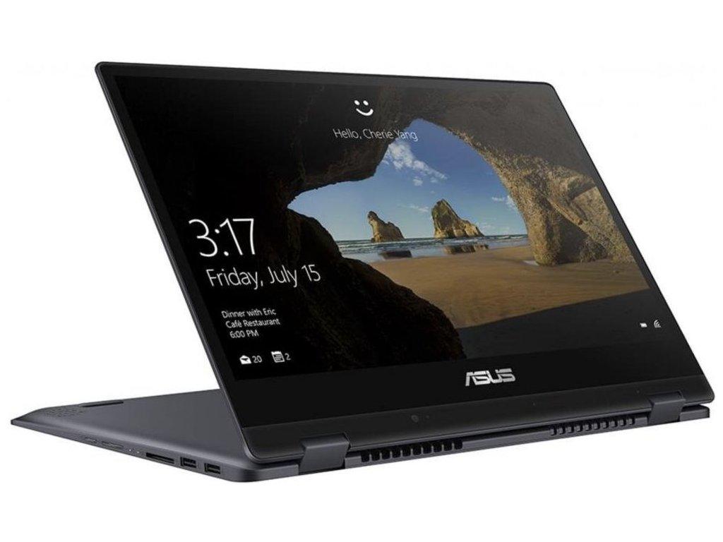 ASUS VivoBook Flip 14 TP412FA, šedá  i3-8145U | FullHD | 8GB RAM | 256SSD