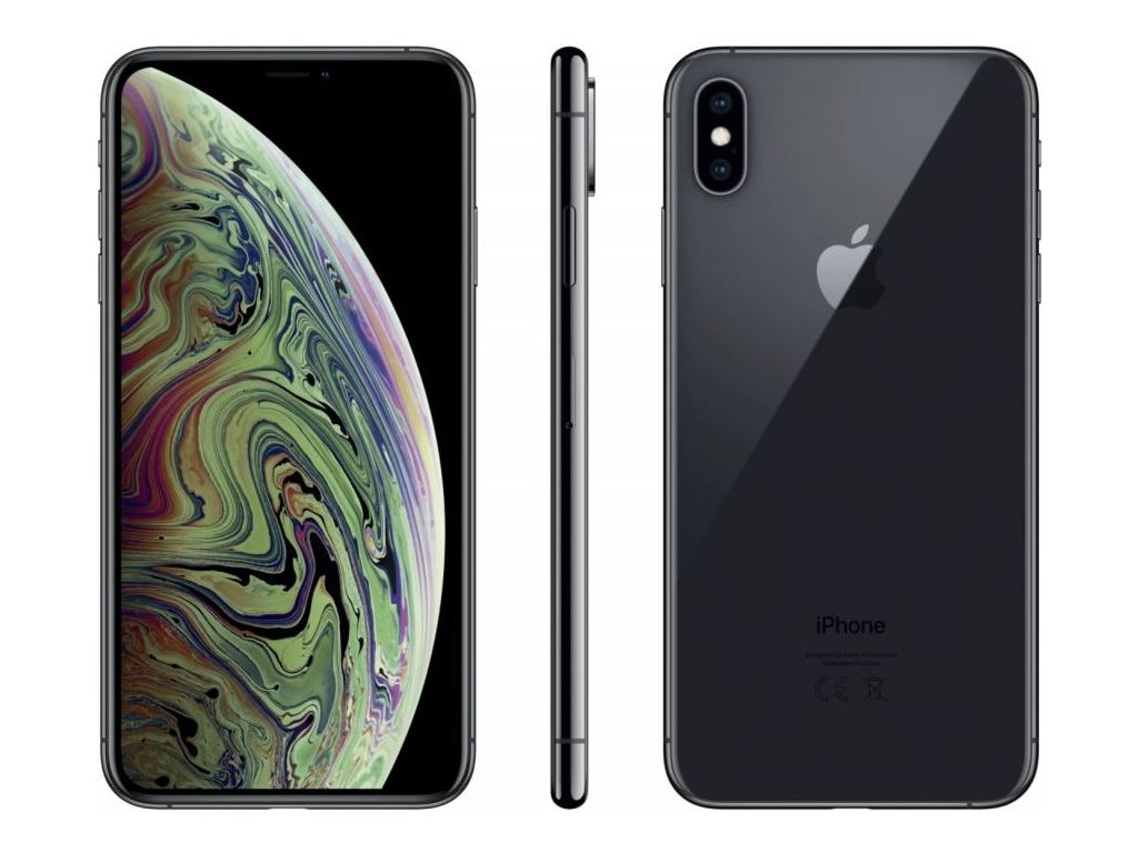 Apple iPhone Xs Max 256GB Space Grey  PŘEDVÁDĚCÍ TELEFON