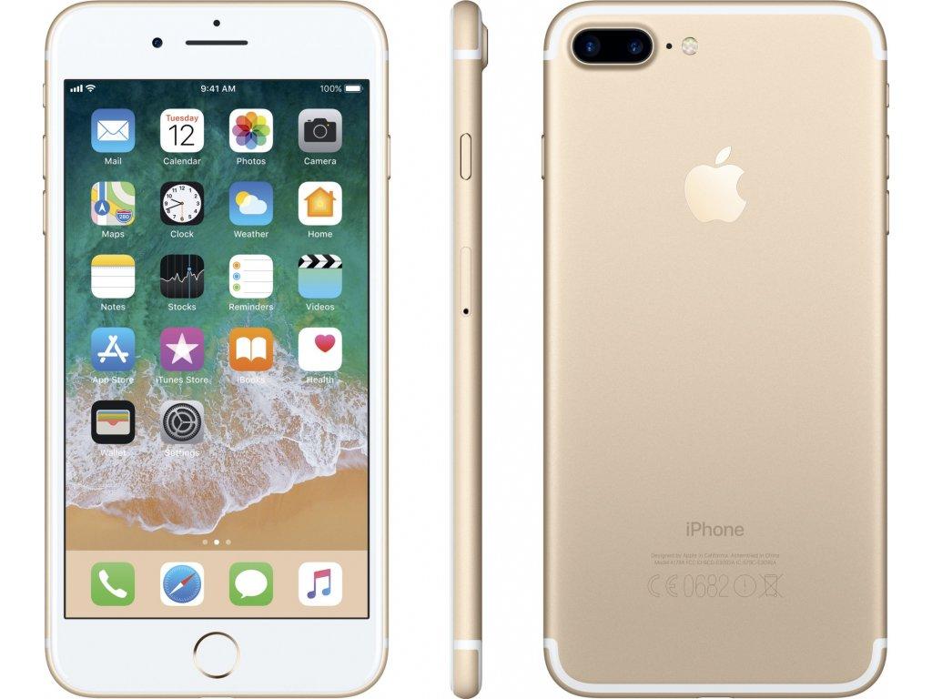 Apple iPhone 7 Plus 128GB Zlatá  PŘEDVÁDĚCÍ TELEFON 100%BATERIE