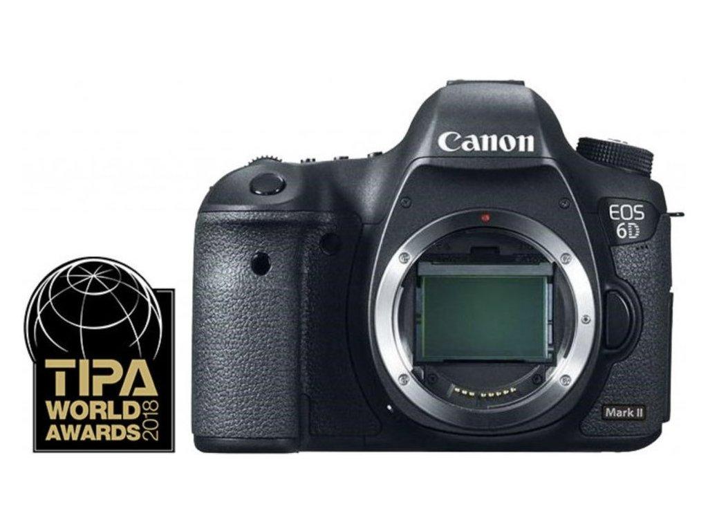 Canon EOS 6D Mark II tělo  CZ DISTRIBUCE