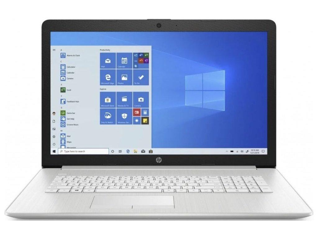 "HP 17-ca1011nc stříbrná  17.3"" IPS FULLHD | Ryzen 7 3700U | 16GB RAM | Radeon RX Vega 10"