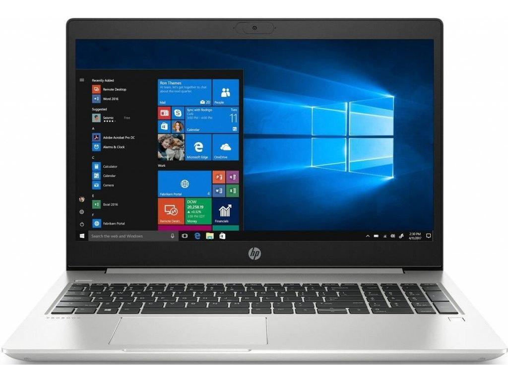 "HP ProBook 450 G7 stříbrná  i5-10210U   15.6"" FULLHD   256GB SSD   8GB RAM"