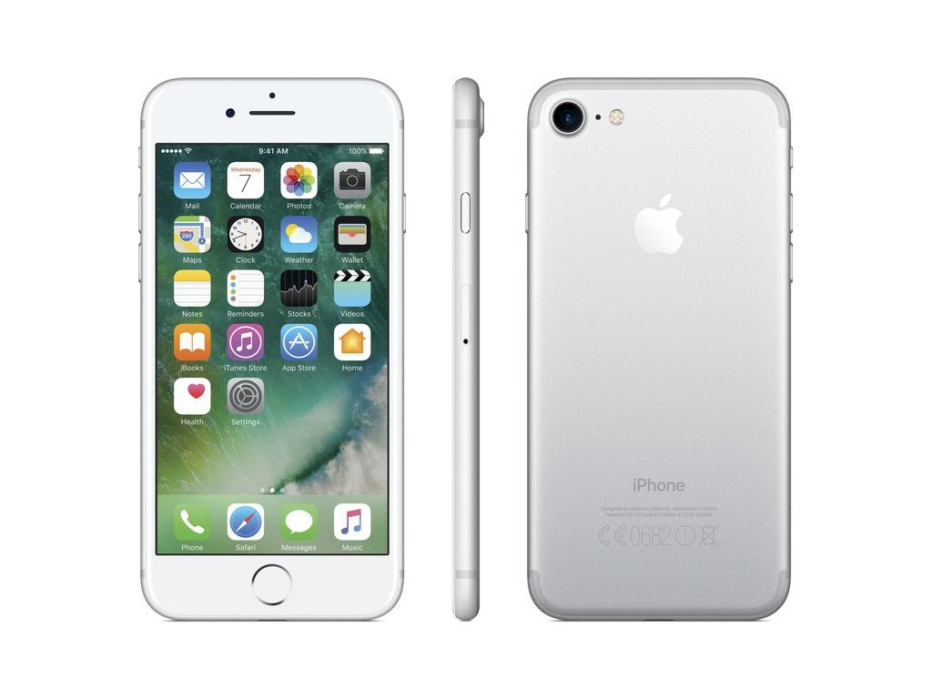 Apple iPhone 7 32GB Silver  CZ DISTRIBUCE