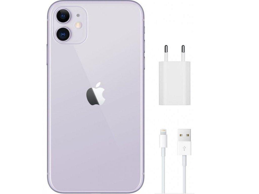 Apple iPhone 11 64GB Purple  EKO BALENÍ S NABÍJEČKOU
